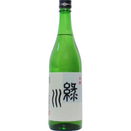酒処 贈り物 新潟からお届け致します 緑川 本醸 超人気 720ml 酒 日本酒 当店は宅配用の破損防止箱代は無料です 辛口 緑川酒造