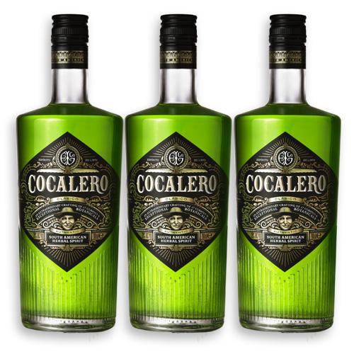 COCALERO コカレロ 29度 700ml×3 コカの葉 リキュール 17種のハーブ使用