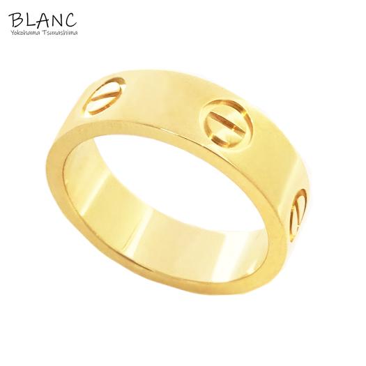 【中古】カルティエ ラブリング 750 K18YG 指輪 #50 約9.5号 仕上げ済み ジュエリー アクセサリー Cartier 横浜BLANC