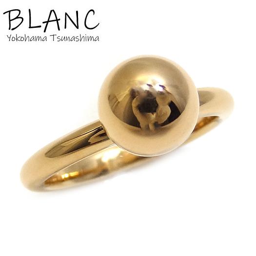送料無料 美品 中古 流行 ティファニー リング ハードウェアボールリング K18 ジュエリー Co. Tiffany 指輪 5%OFF 横浜BLANC ピンクゴールド