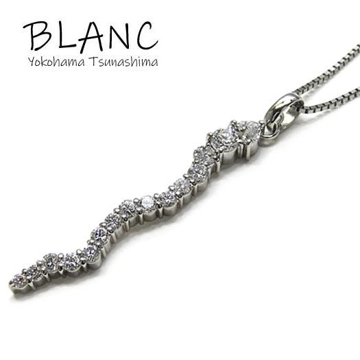 【中古】ダイヤ ネックレス プラチナ 900 850 ダイヤ 1.30ct ノンブランド ジュエリー 横浜BLANC