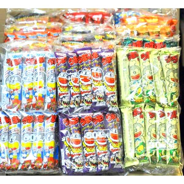 直営店 パーティに うまい棒 8袋セット ランダムor選択 大特価 1セットは240本入り 8種類×各30本