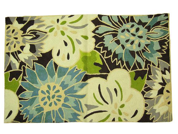 インド製刺繍マット(50×80)