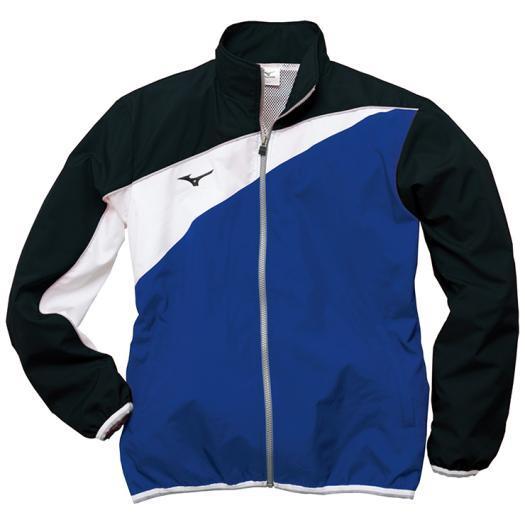 ミズノ トレーニングクロスシャツ[ユニセックス] 29&nbspサーフブルー×ブラック(n2jc902029)
