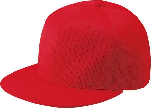 ゼット 野球 ソフトボール ベースボールキャップ 六方平ツバキャップ 21SS 正規取扱店 レッド 帽子 ※ラッピング ※ bh181t-6400