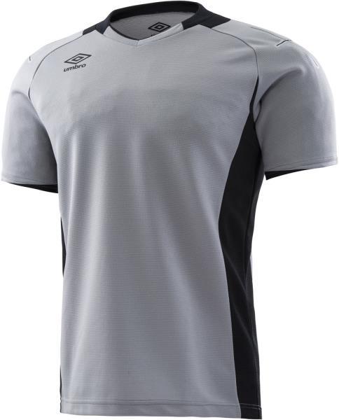 デサント サッカー 半額 メンズ 美品 フットサルウェア ゴールキーパーシャツ ショートスリーブ パンツ シルバー 18SS ケームシャツ uas6708g-slv