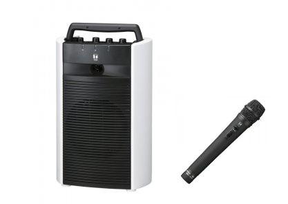 TOA 800MHz帯 ポータブルワイヤレスアンプ +ワイヤレスマイクセットWA-2700+WM-1220 WA-2700-A