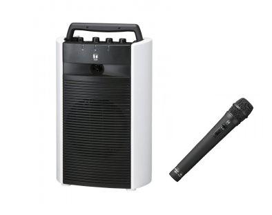 TOA 800MHz帯 ワイヤレスアンプ(ダイバシティ)(CD付)+ワイヤレスマイク(ハンド型)1本セット「WA-2800CD+WM-1220」 WA-2800CD-A