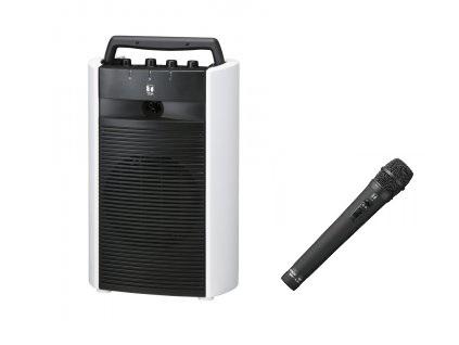 TOA 800MHz帯 ワイヤレスアンプ(ダイバシティ)(CD、SD、USB付)+ワイヤレスマイク(ハンド型)1本セット「WA-2800SC+WM-1220」 WA-2800SC-A