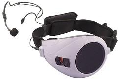 TOA ハンズフリー拡声器(淡いパープル)ER-1000