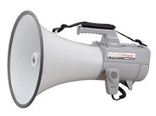 TOA ショルダーメガホン(大型)<代引不可>ER-2130W