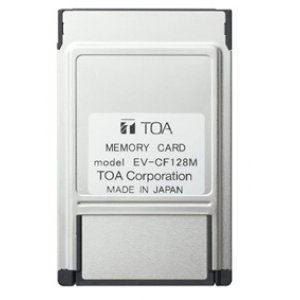 TOA メモリーカード 128MBEV-CF128M