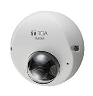 TOA ネットワークカメラシステム屋外ミニドームフルHDネットワークカメラN-C3300F2