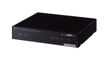 TOA ネットワークオーディオアダプター 1UサイズNX-100