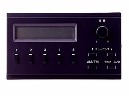 TOA プリアンプパネル組込用ラジオチューナーDT-230