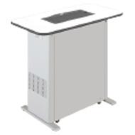 MITSUBISHI三菱喫煙用集塵・脱臭機スモークダッシュBS-FC13Dフラットカウンタータイプ写真のテーブル板は付属していませんので別途選択して下さい。