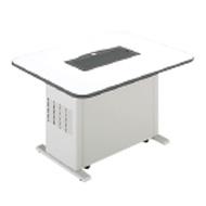 MITSUBISHI三菱喫煙用集塵・脱臭機スモークダッシュBS-FT13Dフラットテーブルタイプ写真のテーブル板は付属していませんので別途選択して下さい。
