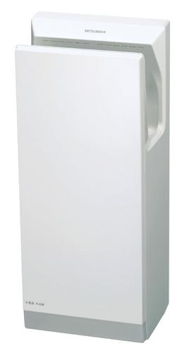 三菱ハンドドイヤージェットタオルNEWスリムタイプ200V仕様〔3年間保証対象製品〕JT-SB216KSN2-W(ホワイト色)(AC200Vタイプ)