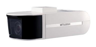 三菱電機 固定型 ネットワークカラーカメラNC-6100
