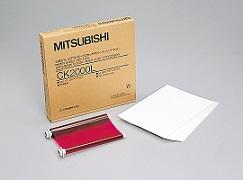 MITSUBISHIL(A4)サイズペーパーインクシートセット(100枚分)CK2000L