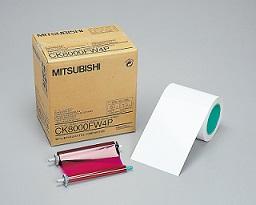 MITSUBISHIA5ワイドサイズペーパーインクシートセット(110枚)CK8000FW4P