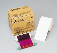 MITSUBISHI2L判ペーパーインクリボン(350枚)CK9057