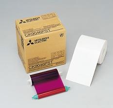MITSUBISHIポストカードペーパーインクリボン (600枚)CK9046PST