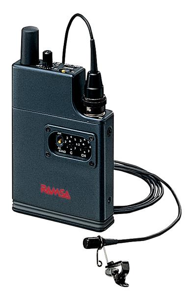 パナソニック プロオーディオシステム800Mhz帯ENG/EFPワイヤレスマイクロホン<B型>WX-TB841