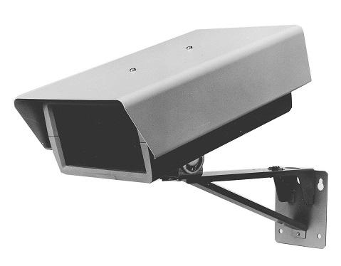 パナソニック テルックカメラシステムテルック専用軒下防滴用カメラハウジング取付金具付WV-42