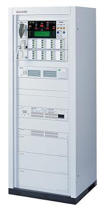 緊急・業務・非常放送が行える拡張性に優れたシステム。 パナソニック 非常放送システムスタンダードラック形非常用放送設備(非常・業務兼用)<代引不可>WL-8000A