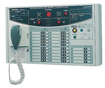 パナソニック 非常放送システム音声警報機能付壁掛形非常リモコン(WK-EK100シリーズ専用)WR-EC115A(15局)