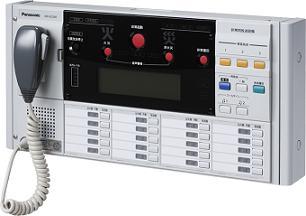 パナソニック 非常放送システム音声警報機能付非常リモコンラックマウント・壁掛・卓上共用ラックマウント金具付属WR-EC500A