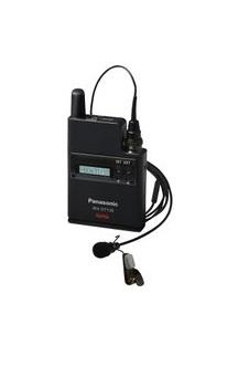 パナソニック プロオーディオシステムB型デジタルワイヤレスマイク(2ピース型)WX-DT135