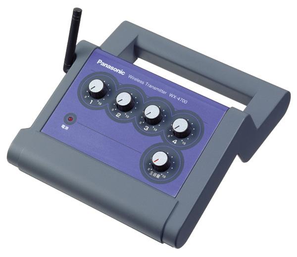 パナソニック 800MHz帯ポータブルワイヤレス送信機WX-4700