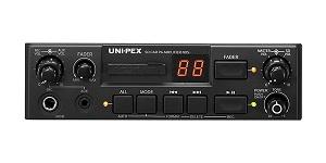 ユニペックス SDレコーダー付車載アンプ 40WNDS-402A(マイク付き)