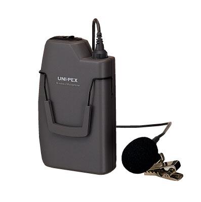 ユニペックス PLL300MHz帯ワイヤレスマイクロホンツーピースタイプWM-3100