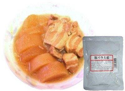 いし本 豚バラ大根 200g【12パック×3】送料無料
