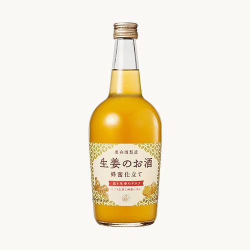 にごり生姜とはちみつのほのかな甘み 国際ブランド 公式 低廉 700ml 生姜のお酒