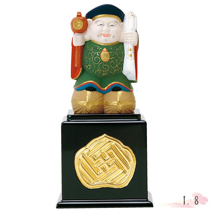 仏像 彩色 大黒天 1.8寸 仏具 仏教 本尊 仏壇 Butsuzo a Buddhist image a statue of Buddha
