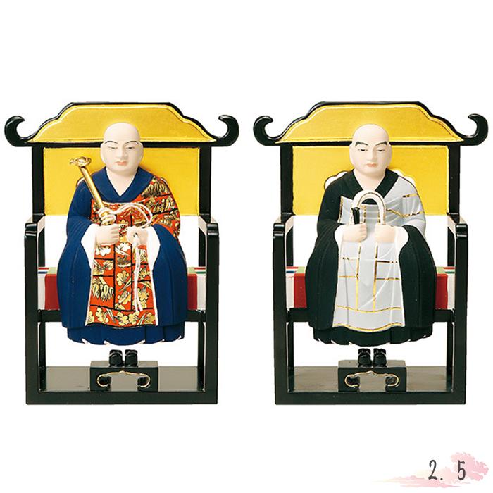 仏像 木製彩色 太祖・道元 2.5寸 仏具 仏教 本尊 仏壇 Butsuzo a Buddhist image a statue of Buddha