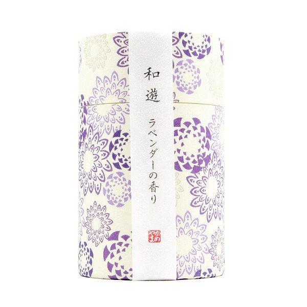 北海道への配達不可商品です 線香 誕生日プレゼント カメヤマ 和遊 筒箱 ラベンダーの香り ミニ寸線香 大幅値下げランキング