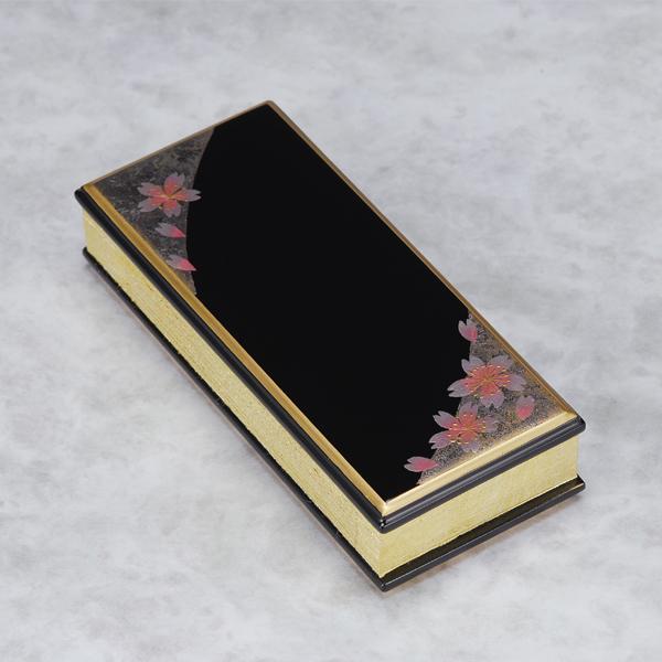 上蒔絵過去帳 箔散桜3.5寸