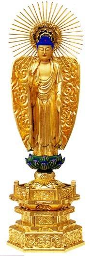 【最安値】 仏像 浄土真宗本願寺派 阿弥陀如来 6寸中七肌粉, JEANSBUG(ジーンズバグ) 37c3121f