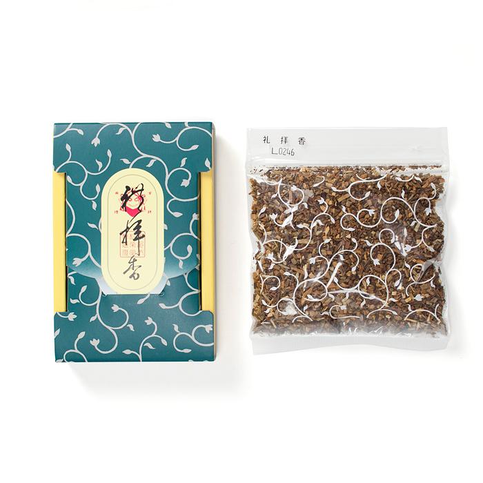 香りで仏様を供養するお焼香 お焼香 礼拝香25g 日本正規代理店品 特売