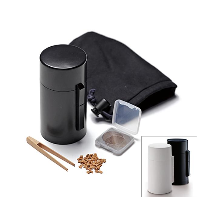 電池式香炉 ひとたき香炉 こづつ 黒/白※乾電池は別売りです※