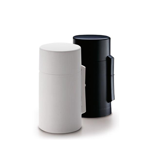 Battery powered censer human kindling incense burner kodzutsu and Princess incense set black and white