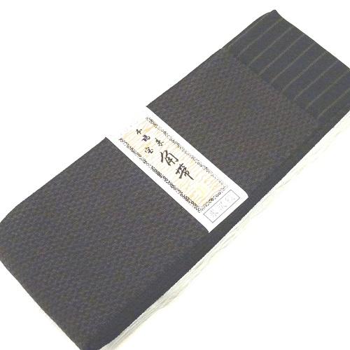 茶系リバーシブル角帯(綿60%・ポリエステル40%)