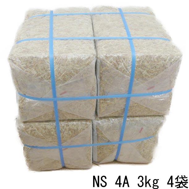 NSブランド ニュージーランド産水苔 4A(ミズゴケAAAA) 3kg 4袋 合計12kg