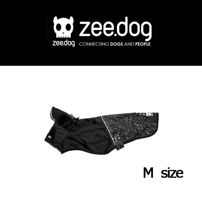 【zee.dog】ジードッグ RAINCOAT レインコート M ブラック OZZY:ヨリアイDOGS