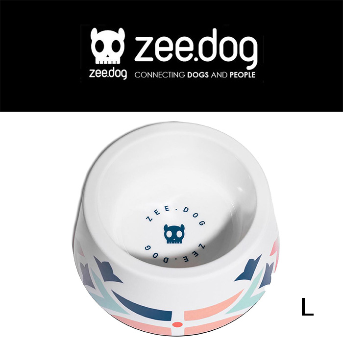 最新アイテム zee.dog ジードッグ BOWLS メラミンボウル MARCUCH アウトレット フードボール size L